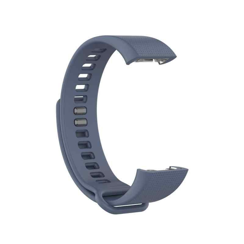 Correa de silicona para Amazfit Huami COR Meter, correa de silicona sólida en 7 colores para relojes inteligentes A1702, hebilla para correa de reloj, pulsera de repuesto para reloj