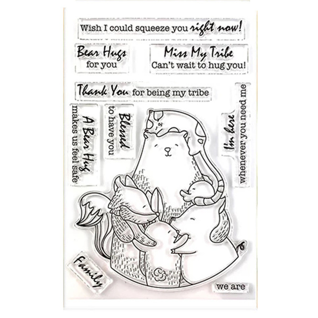 clear stamp  4x6in 11
