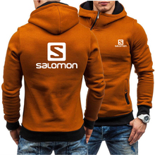 Salomon Side Zipper Hoodies Men Cotton Sweatshirt Spring Pat