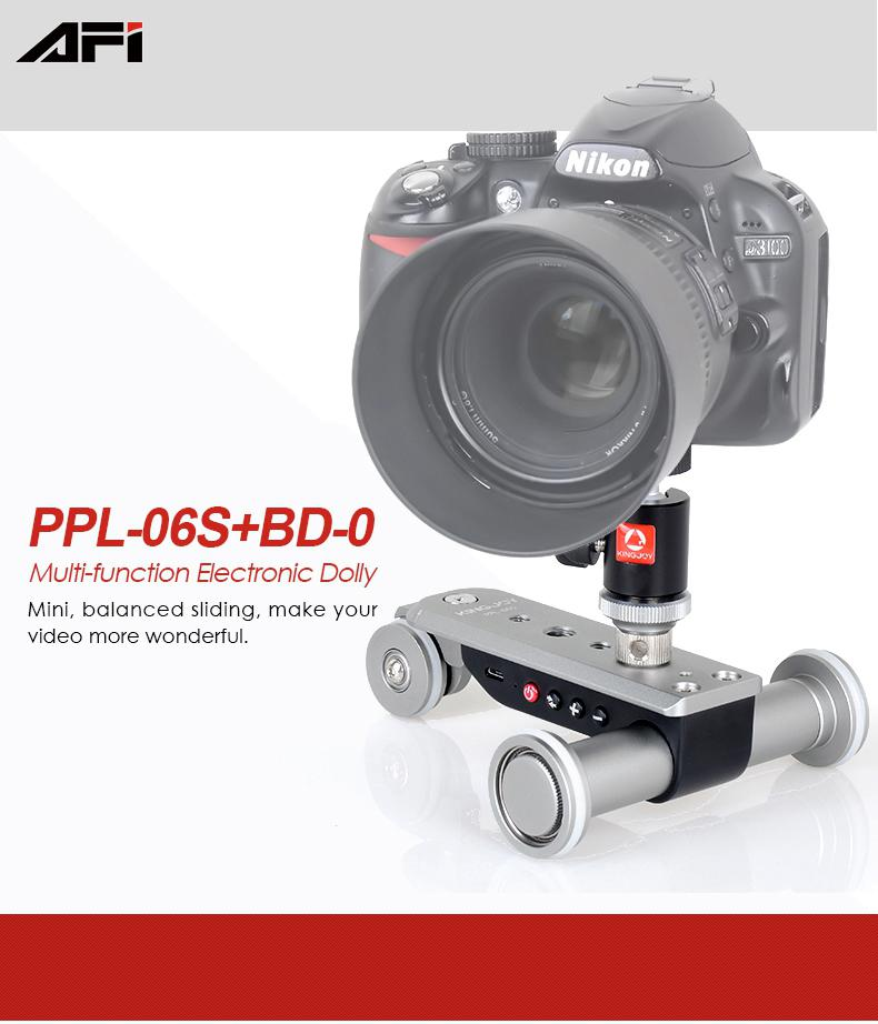 PPL-06S 3-Wheel Auto Dolly 5 Speeds Motorized <font><b>Video
