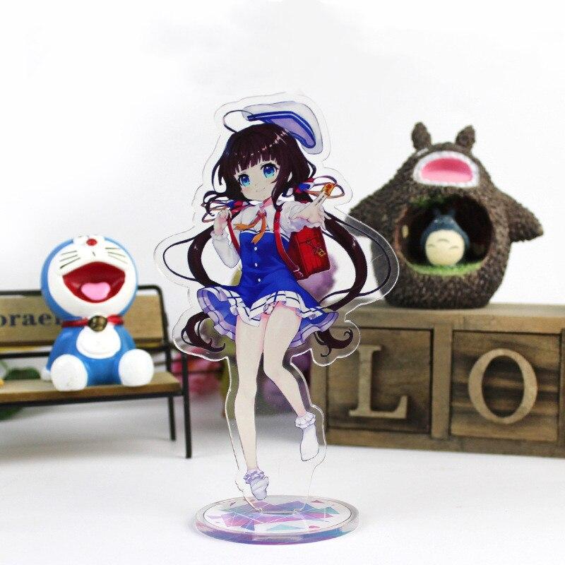 Die Ryuo Arbeit ist Nie Getan Anime Abbildung Acryl Modell Spielzeug Cosplay Hinatsuru Ai Action Figure Dekoration DIY Sammlung geschenke