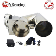 """VR   Universal Stainless Steel  2.5"""" / 3"""" Dump Valve Electric Exhaust Cutout Cut Out with Wireless Remote VR CT93"""