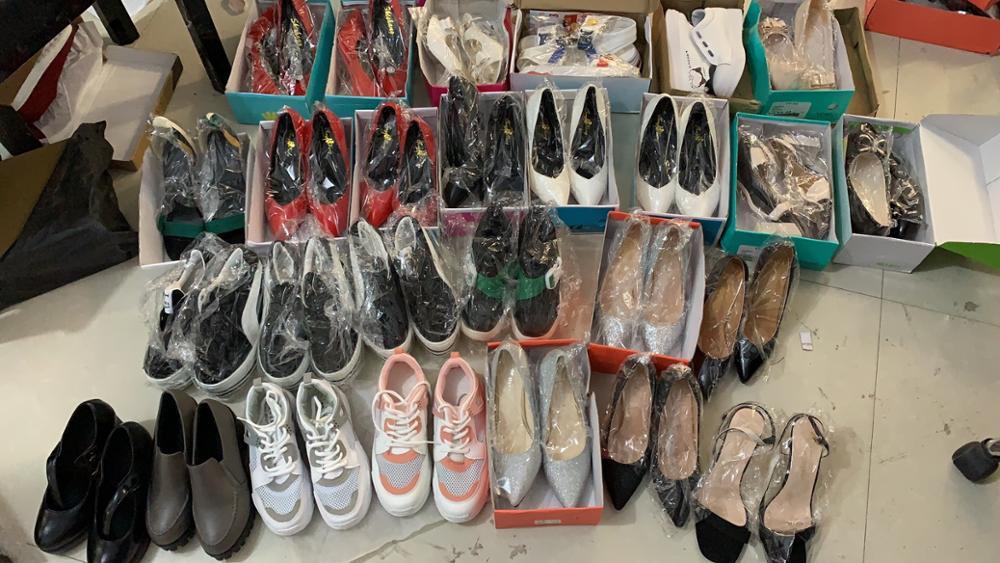 Liquidation stock chaussures pour femmes, talons hauts, baskets, 100% chaussures flambant neuves|Escarpins femme|   - AliExpress