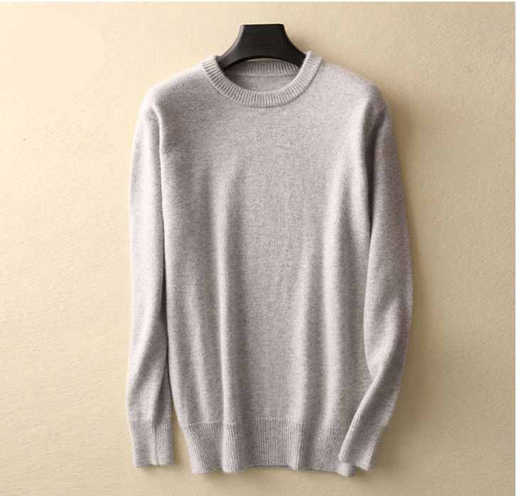 Hot Selling Cashmere Cotton Blended Thick Pullover Men Sweater autumn winter jersey Jumper hombre pull Knitted sweater 5