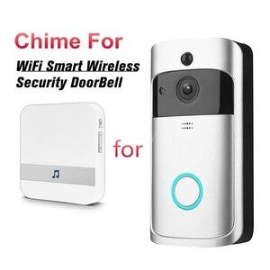 """Image 2 - AC 110 220V חכם מקורה פעמון פעמון אלחוטי WiFi דלת פעמון ארה""""ב האיחוד האירופי בבריטניה AU Plug XSH app עבור EKEN V5 V6 V7 M3"""