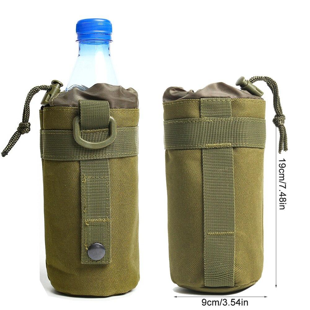 Mit Wasserflasche Tasche Wasserkocher Halter Träger Zwei Schnalle Neu