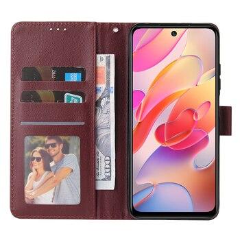 Flip Wallet Case for Xiaomi Redmi 10 9 9A 9C 9T 8 8A 7 7A Note 10 9 8 7 Leather Case For Xiaomi Poco X3 F3 M3 Pro Protect Cover 2