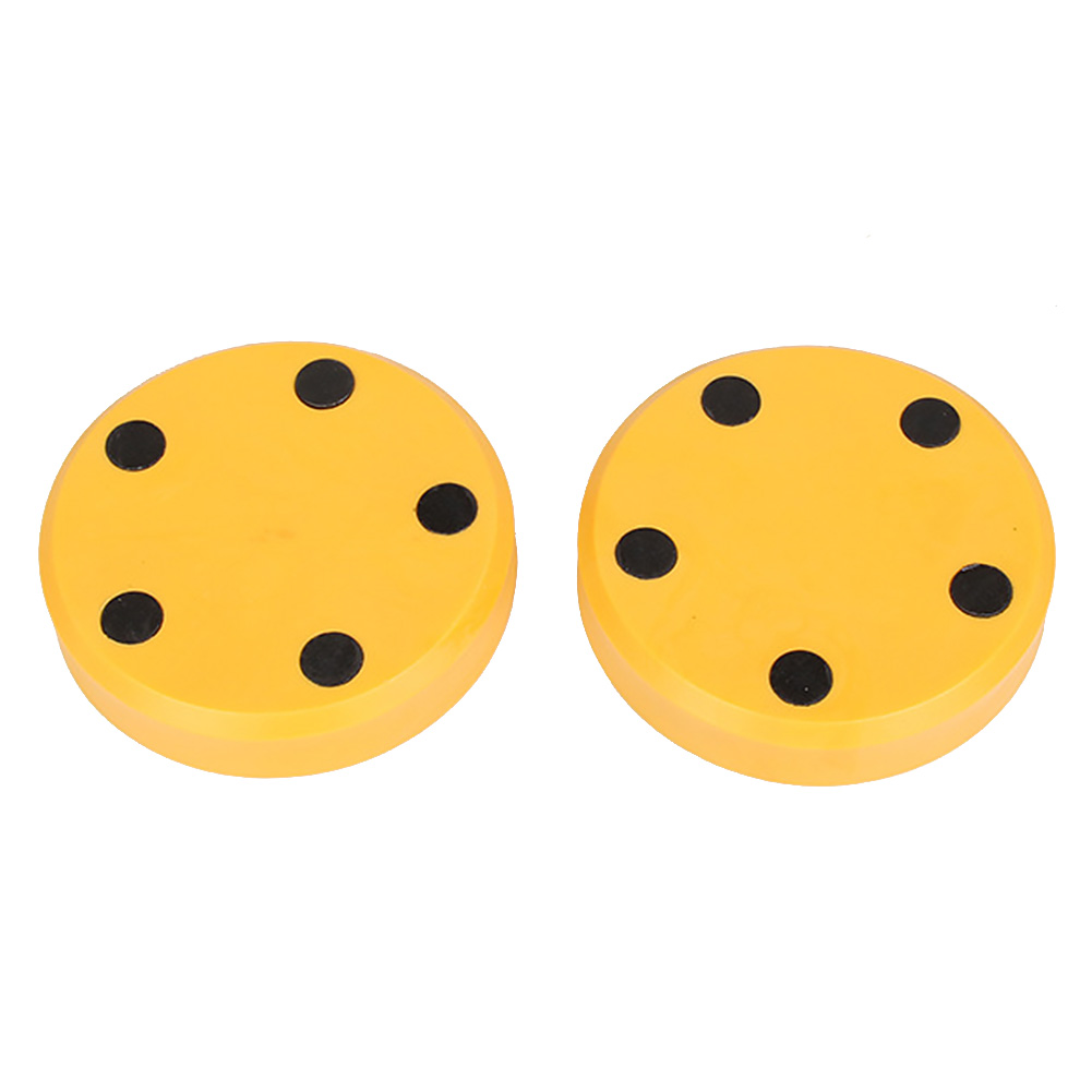 1 Pair Longboarding Skateboard Slider Block Replacement Practical Speed Control Flicker Portable Sparks Inline Round For Gloves