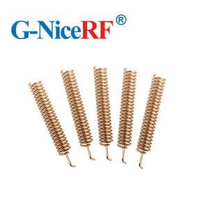 Image 5 - 30 قطعة/الوحدة عالية الجودة الربيع حلزونية الهوائي 433 ميجا هرتز هوائي ل اسلكية rf حدة الشحن مجانا
