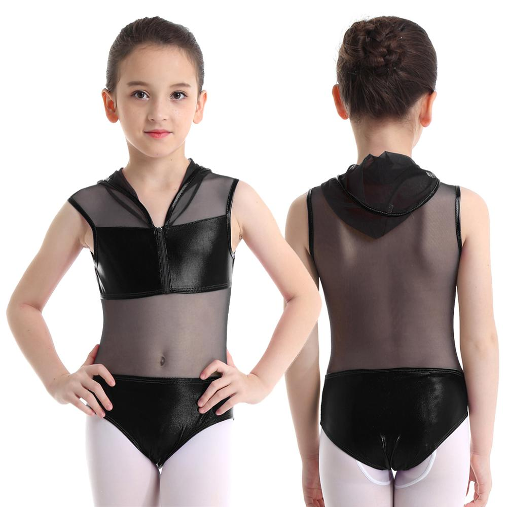 Подростковое платье для балета и танцев для детей; Блестящая металлическая толстовка с капюшоном; Сетчатое лоскутное платье на молнии; Костюм для балета и гимнастики; Купальник|Платья|   | АлиЭкспресс