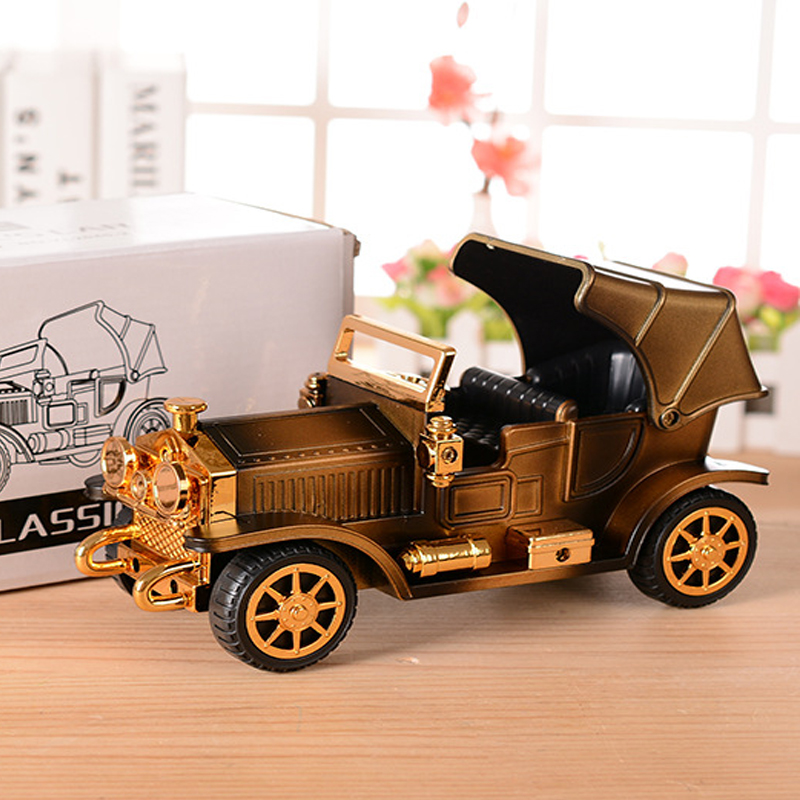 Ретро-винтаждық Car Music Box автомобиль - Үйдің декоры - фото 3