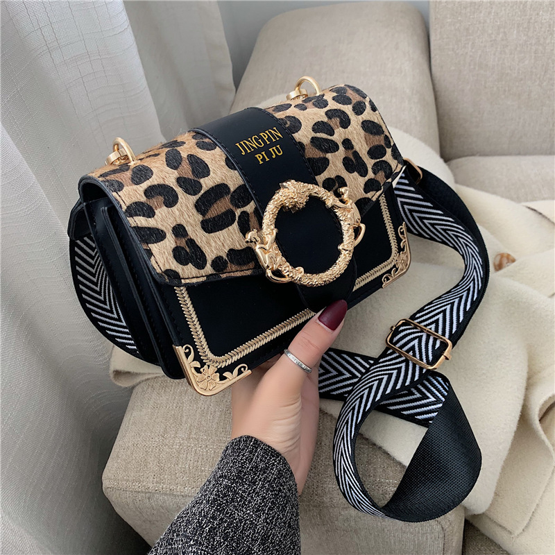 Leopard PU Leather Mini Crossbody Bags For Women 2019 Brand Designer Shoulder Messenger Bag Lady Travel Handbags And Purses