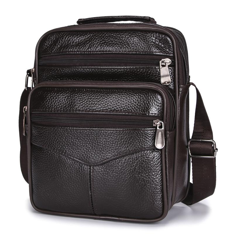Men Shoulder Bags  Messenger Bags  Fashion Business Bags For Men Genuine Leather Bags High Capacity Handbags 2020