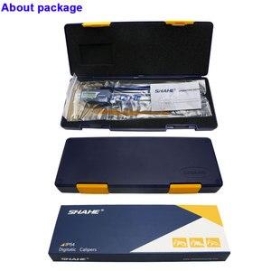 Image 5 - IP54 방수 150 mm 전자 버니어 캘리퍼스 마이크로 미터 전자 캘리퍼스 스테인레스 스틸 Messschieber Paquimetro 디지털