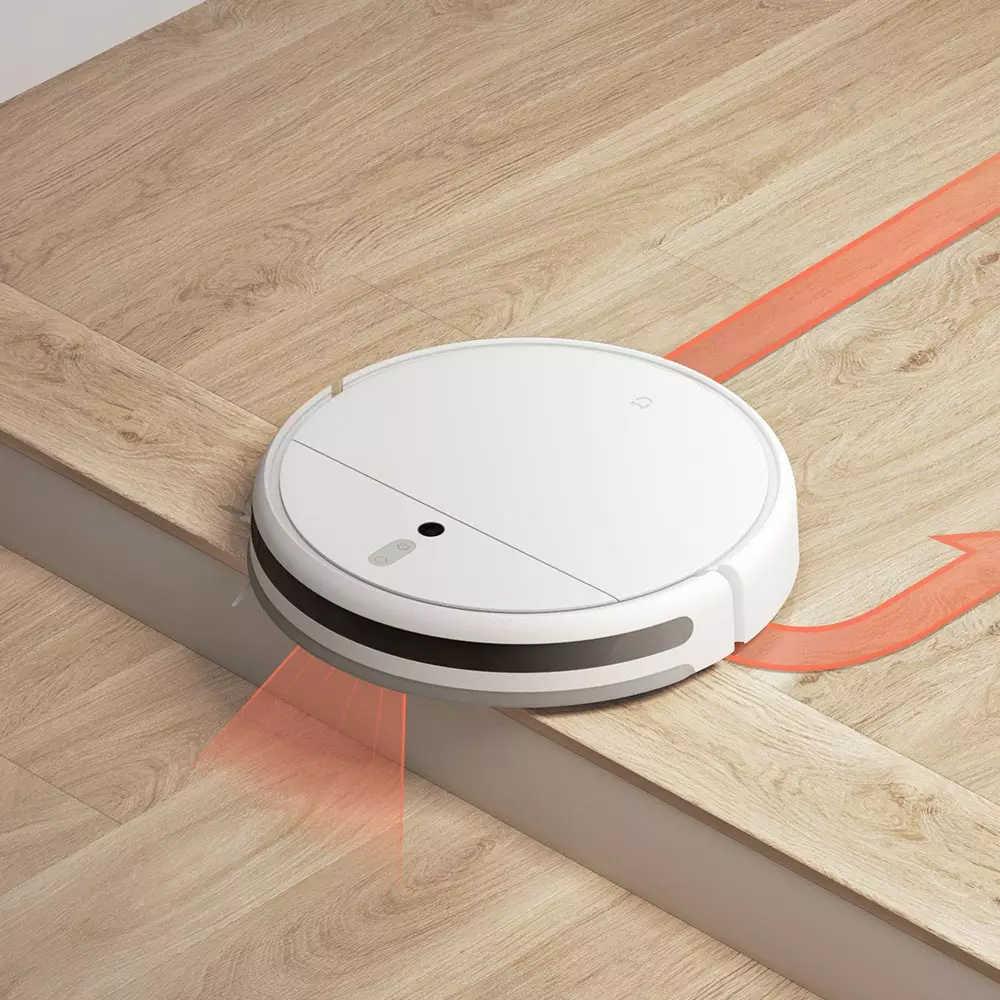 XIAOMI MIJIA Mi Sweeping Mopping Robot 진공 청소기 1C 가정용 자동 먼지 멸균 2500PA cyclone Suction Smart Planned WIFI
