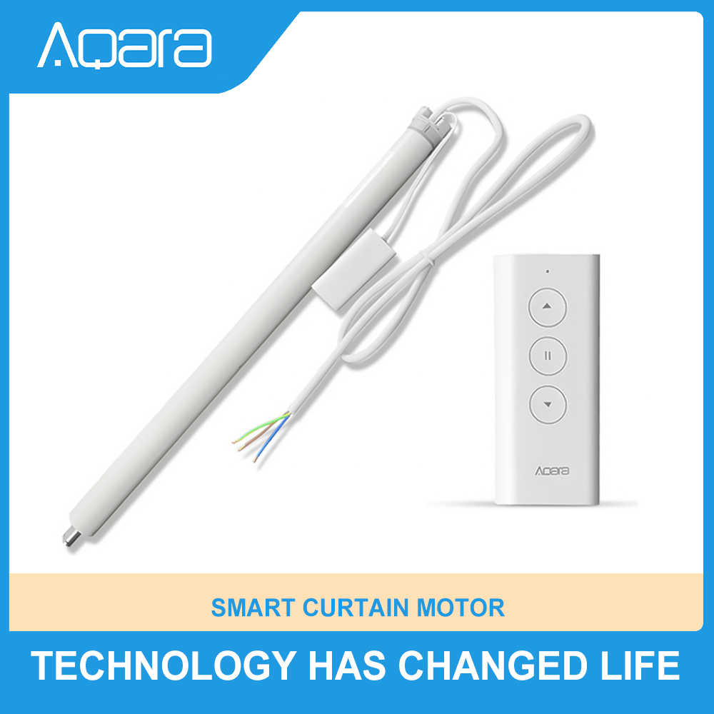 2020 yeni orijinal Aqara akıllı haddeleme deklanşör motoru akıllı perde motoru güneşlikler için ZigBee tekrarlayıcı Xiaomi Mi ev APP