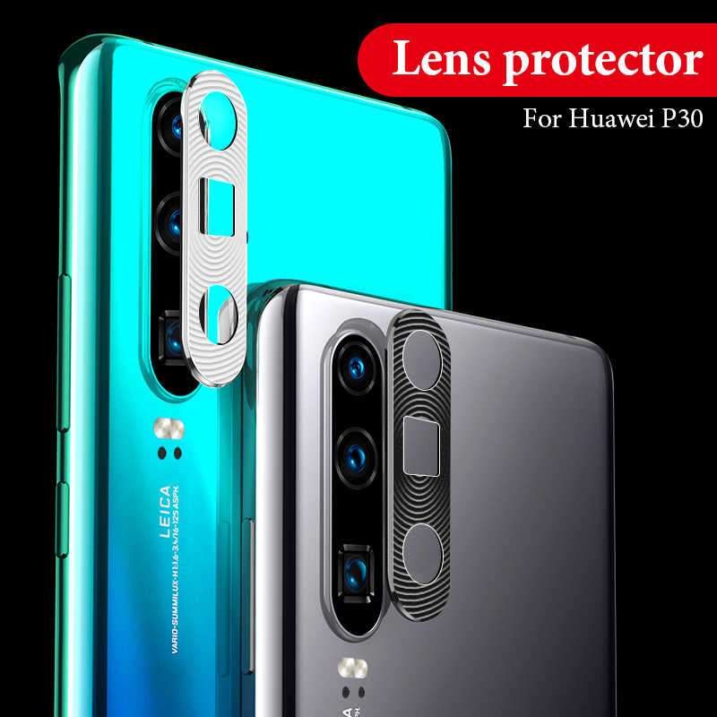 Aluminum Ring Protector Case For Huawei P30 P20 Mate 20 Pro Nova 4 P30 P20 Lite Back Lens Cover Case For Huawei Honor 20 Pro