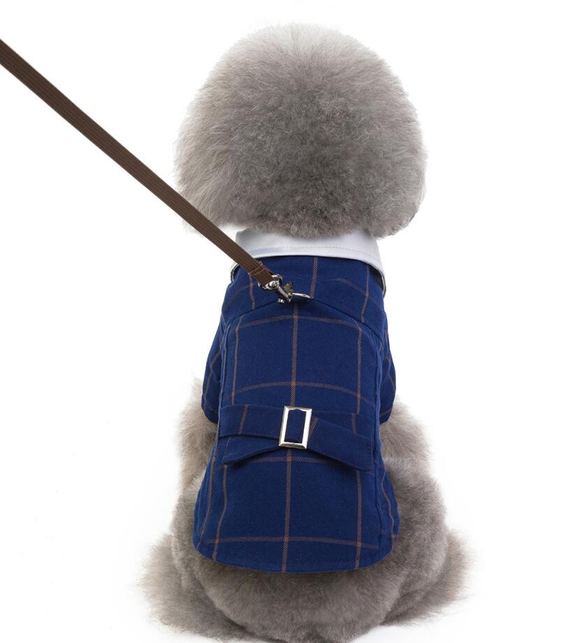 Pet Puppy Cat Coats Jacket Autumn/Winter Warm Dog Clothes for Small Dogs Clothing