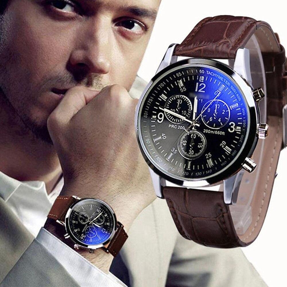 Black Watch Men Reloj De Hombre Mens Watches Man Wrist For Moda Reloges Zegarki Whatch Relogio Clock Relojes Montre Fashion Uomo
