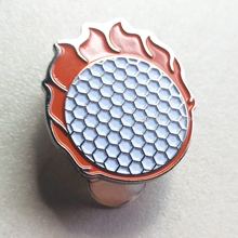 Golf-Ball-Marker Magnetic-Cap-Clips with for Lovely New Orange-Hat Wholesale 1pcs Fire-Ball