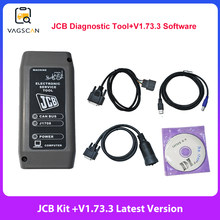 Rolnicze urządzenia budowlane do JCB elektroniczne narzędzie serwisowe (DLA) JCB ServiceMaster ciężkie narzędzie diagnostyczne do ciężarówki