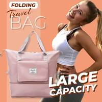Große Kapazität Klapp Reisetasche Unisex Große Kapazität Tasche Frauen Kapazität Hand Gepäck Business Reise Reisen Taschen Wasserdicht