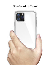 For iPhone XIR XIS MAX 11 2019 Case 1:1 Original Official Style Clear Phone XI HD Transparent ShockProof Cover