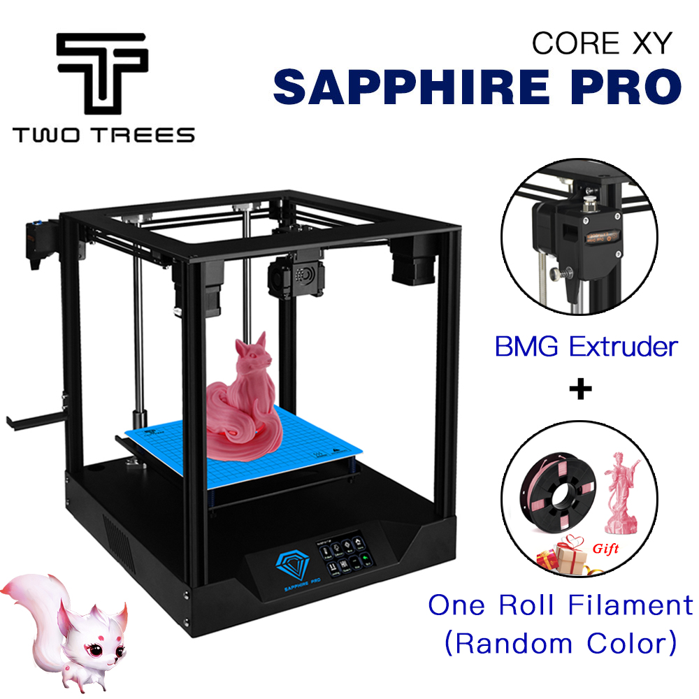 TWO TREES 3D Printer Sapphire pro BMG Extruder CoreXY Core xy High-precision Sapphire S Pro 3d DIY kits 3.5 inch touch screen