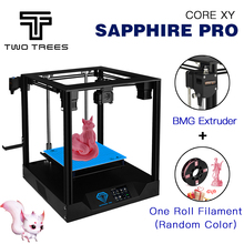 Ship From Overseas warehouse TWO TREES 3D Printer Sapphire Pro BMG Extruder CoreXY High precision DIY kit 3.5 inch touch screen
