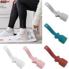 1/2PCS Lazy Unisex Wear Shoe Horn Helper Shoehorn Shoe Easy on and off Shoe Sturdy Slip Aid