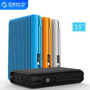ORICO HDD 1/2/3/4 TB USB3.1 Gen2 TYPE-C 3.5 In 10Gbps High-Speed Shockproof External Hard Drives HDD Desktop Mobile Hard Disk image