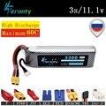 1 шт.  аккумулятор Lipo высокой мощности 11 1 В  3300 мА/ч для радиоуправляемых автомобилей  лодок  квадрокоптеров  дронов  запасные части MAX 60C 3s 11 1 В...