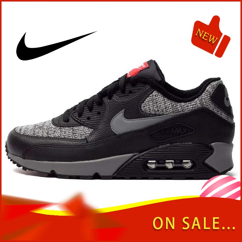 Original Authentic NIKE AIR MAX 90 ESSENTIAL Men's Running Shoes Classic Outdoor Sports Trend Breathable 2019 New 537384-065