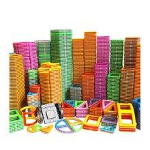 Big Size układanki magnetyczne magnesy klocki akcesoria edukacyjne konstruktor zabawki dla dzieci