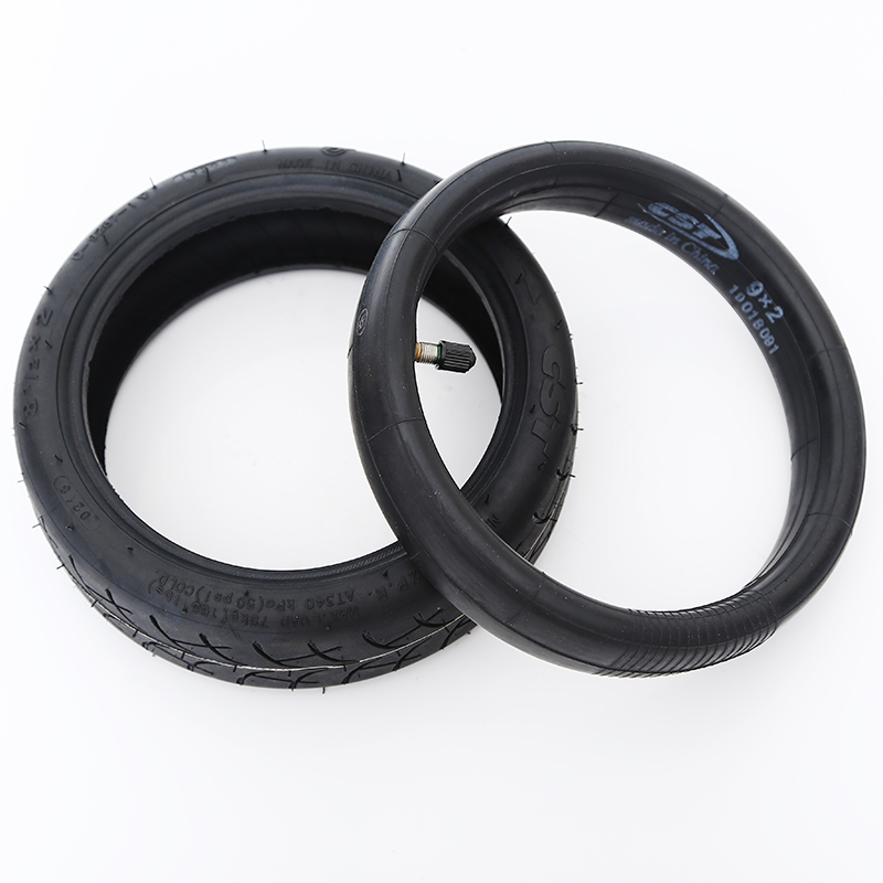 Original Tire For CST Tube For <font><b>Xiaomi</b></font> <font><b>Mijia</b></font> <font><b>M365</b></font> Scooter Inflatable Tyre 8 1/2X2 Inner Tube For <font><b>M365</b></font> <font><b>Pro</b></font> Replacement <font><b>Wheel</b></font> image
