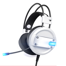 kingston cloud pro silver gaming headphone with microphone volume control headset 3 5mm plug steelseries auriculares SOONHUA Gaming Headset With Microphone Over Ear Headsets Gaming Headphone Support Light Volume Control For Desktop Laptop