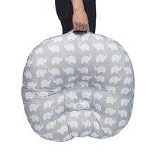 Детская портативная кроватка для новорожденных, хлопковое гнездо для путешествий, кроватка для кормления грудью, коврик, подушка, утолщенная многофункциональная детская забота