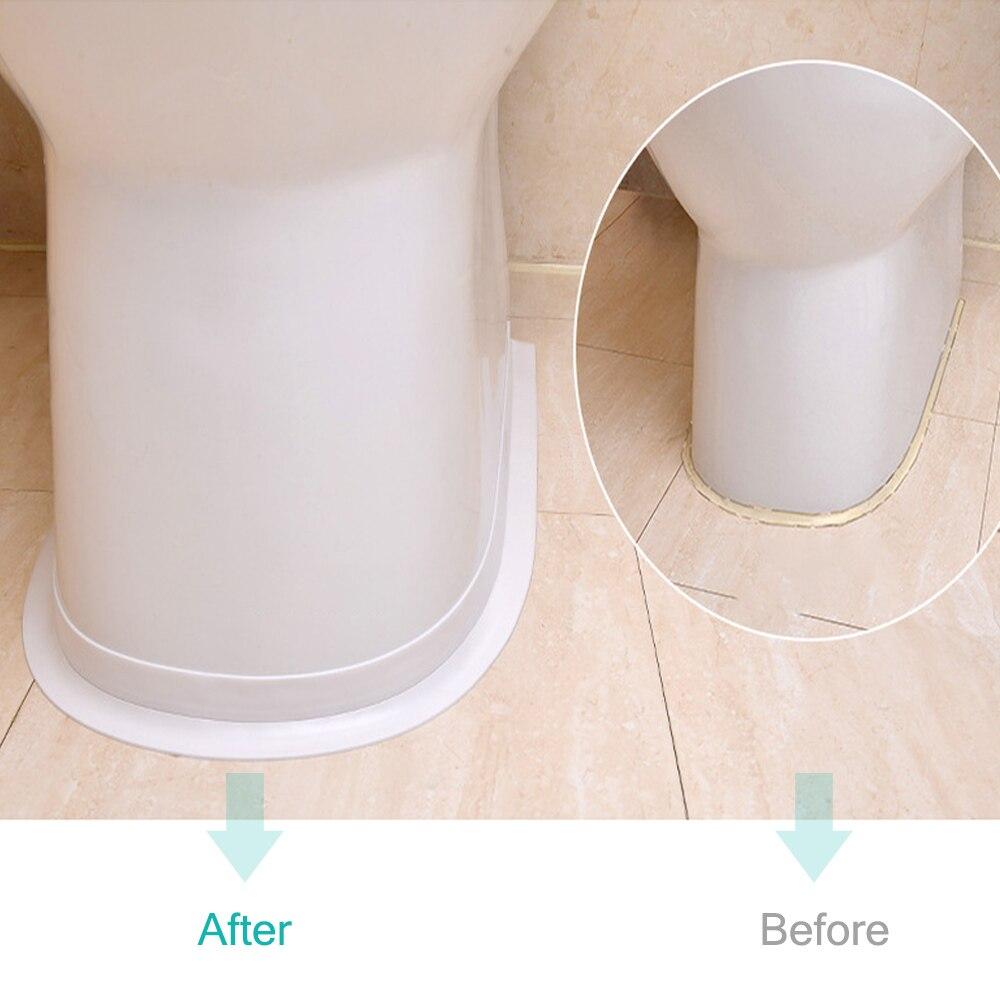 Bathroom Shower Kitchen Sink Sealing Strip Tape Caulk Waterproof