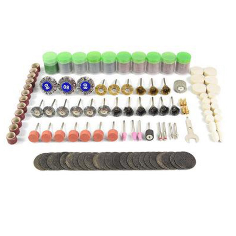 372 Pcs Rotary Tool Accessory Bit Set Suit 1/8 Inch Shank Grinding Polishing For Rotary Machine
