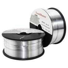 アルミ溶接ワイヤER4043 AlSi5 ER5356 AlMg5Cr 0.5 キロ 0.8/1.0/1.2 ミリメートルD100mmガスシールドアルミニウム合金溶接材料migワイヤー
