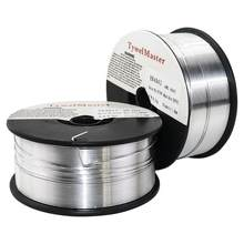Fil à souder en aluminium, ER4043 AlSi5 ER5356 AlMg5Cr 0.5kg 0.8/1.0/1.2mm D100mm bouclier à gaz en alliage d'aluminium, matériel de soudage MIG