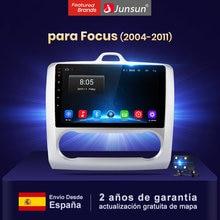 Junsun 4+64 pantalla Control de voz AI radio coche con multimedia DVD Player Para Ford Focus MK2 2005 2004-2011Bluetooth RDS GPS