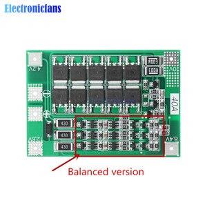 Image 5 - 3S 40A Li Ion Batteria Al Litio Caricabatterie Lipo Cellulare Modulo Pcb Bms Bordo di Protezione per Il Motore Del Trapano 12.6V con equilibrio