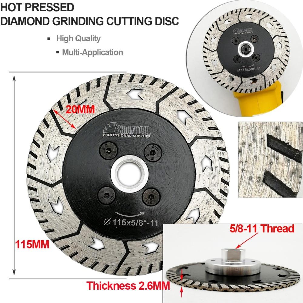 Diamond Cutting Grinding Disc