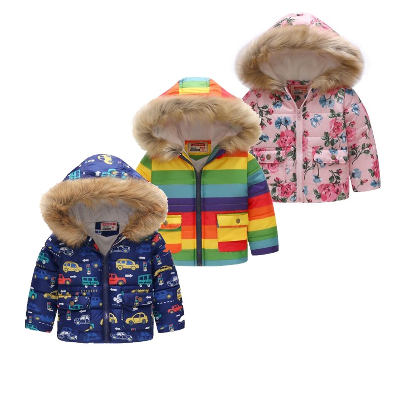 2019 Cute Toddler Kid Baby Boys Girls Raccoon Hooded Coat Jacket Hoodies Outwear