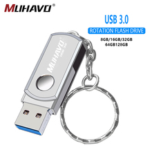High Speed usb flash drive 3.0 128gb Metal pen drive 3.0 64gb usb flash 32gb Rotatable pendrive 16gb 8gb flash drive Pen memory genuine original sandisk ultra usb3 1 z800 usb flash drive 128gb 64gb pendrive 32gb 16gb pen drive support official verification