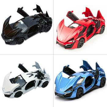 2020 1:32 Lykan Hypersport Alloy Car Model Diecasts & Toy Vehicles Toy Car Metal Collection Toy Kid Toys For Children Kids Gifts image