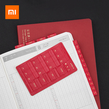 5Colors Xiaomi Kinbor Index Stickers PU Leather Creative Bookmark Note