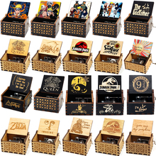 Music-Box Hand-Cranked Wooden Birthday Christmas Sailor Moon Queen Beauty Antique Love Gift