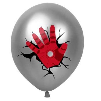 10pcs Super Hero Balloon Latex Balloons Spiderman Kids Spider man Birthday Party Decoration Baby Shower Balloons 24